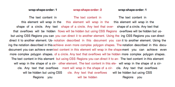 Adobe's example of CSS Exclusions